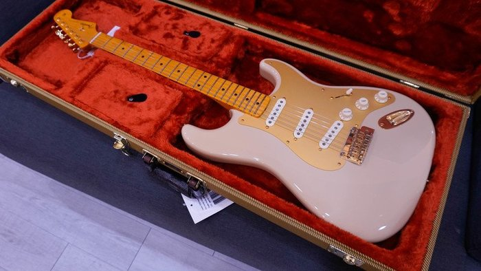 大鼻子樂器 免運 FENDER 60TH ANNIVERSARY '50S STRATOCASTER 單單單 電吉他
