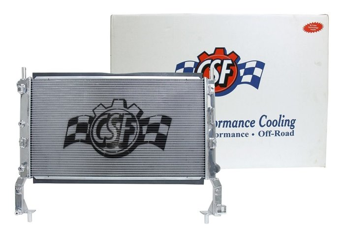 ☆光速改裝精品☆ CSF美國品牌  FORD Mustang 鋁製水箱-現貨在庫