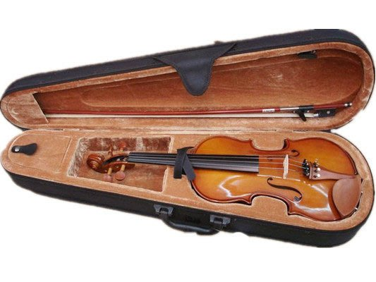 【六絃樂器】全新台灣楓葉牌 #100 小提琴 / 台南維音工廠製造 加附肩墊