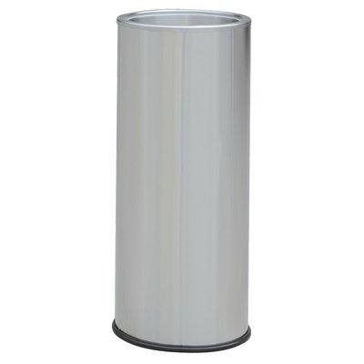 『4組免運』304不銹鋼熄菸桶無投入口無沙盤蓋TS-25SS/菸灰缸桶/煙灰缸桶/垃圾桶/開店必備/吸煙區垃圾桶/垃圾筒/熄菸桶/