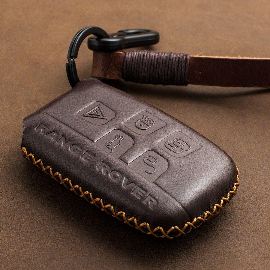 land rover 荒原路華 Discovery LR3 Freelander 汽車 鑰匙 皮套 鑰匙包 真皮