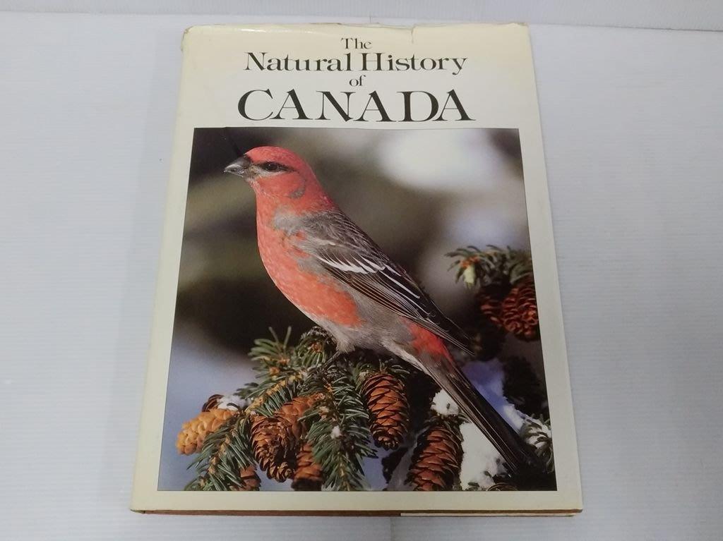 【寶來塢】《The Natural History of Canada》 Adrian Davies 七成新