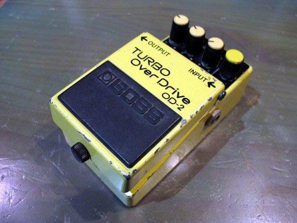 ☆ 唐尼樂器︵☆經典絕版 BOSS 單顆效果器之日本製 OD-2 Turbo Overdrive