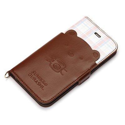 尼德斯Nydus~* 日本正版 San-X 角落生物 翻頁皮套 可放卡片 手機殼 4.7吋 iPhone 6/6S