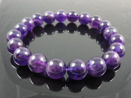 紫水晶手鍊開智慧旺學業增加考運-已請老師淨化加持