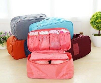 家用大容量襪子文胸收納包布藝整理袋旅行便攜防水內褲內衣收納盒 收納包 收納袋 旅行袋