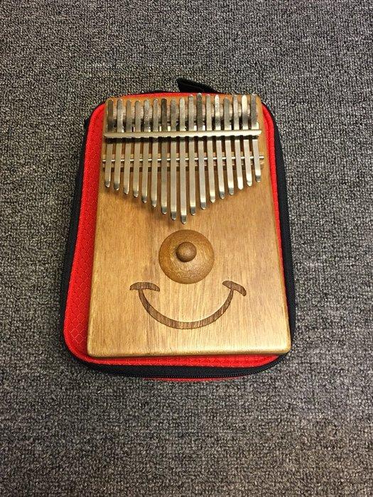 【金聲樂器】台製 如意微笑 17音 卡林巴 牛樟木 單板 拇指琴
