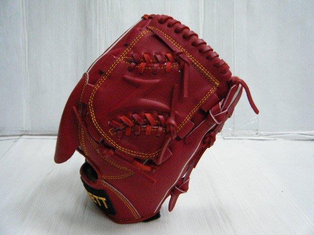 新莊新太陽 ZETT BPGT-33SP6901 獨家製 棒壘手套 Z字 片檔 A級 硬式牛皮 投手款 紅色 特3200