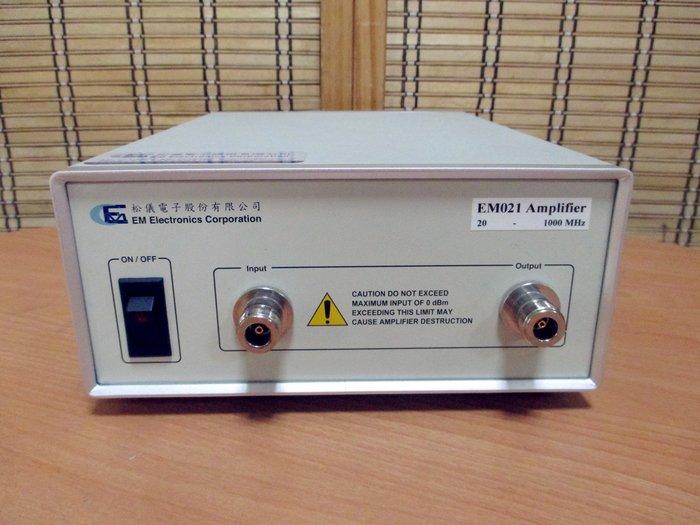 康榮科技二手儀器EM Elctronics Corporation EM021 Amplifier 20-1000MHz