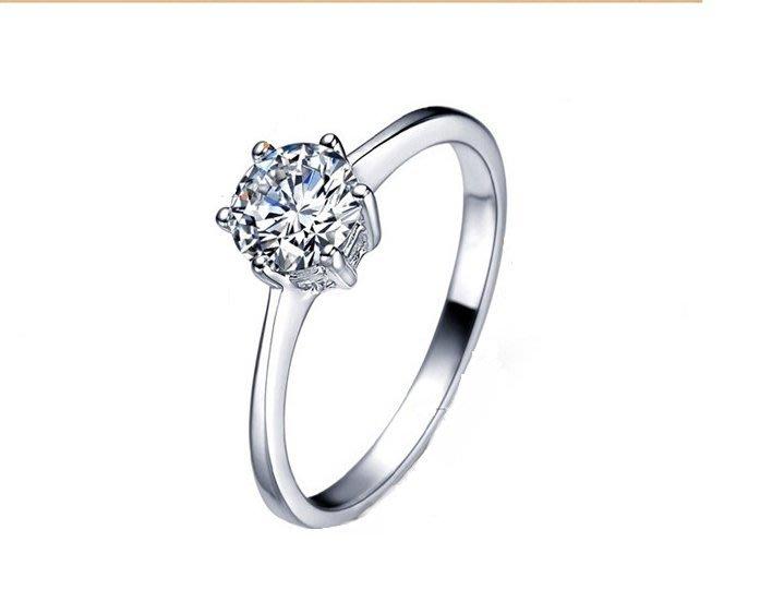 黛恩&聖蘿蘭 T牌一克拉八心八箭CZ鑽石求婚戒  GIA婚顧 訂婚 婚紗婚卡限量珠寶藍寶紅寶玉石十心十箭 項鍊耳環手鍊