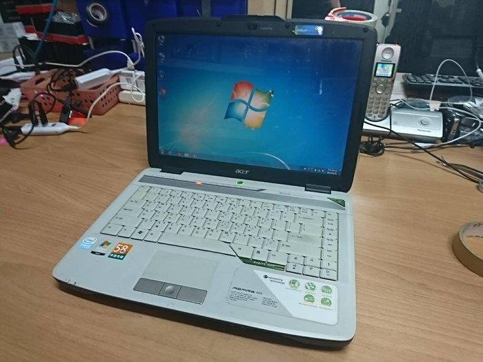 ☆1到6☆ACER 4320 單核 筆電 /硬碟160G/記憶體2G/WIN7 功能正常 jj267