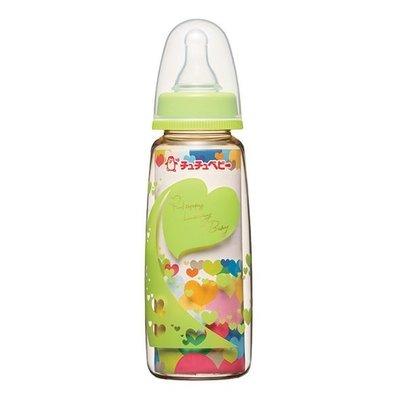 ╭◇娃娃屋◇╮╭◇chuchu 啾啾◇╮大地绿标准PPSU奶瓶-240ml╭◇