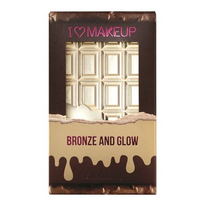 【愛來客 】英國Makeup Revolution Bronze and Glow高光修容盤