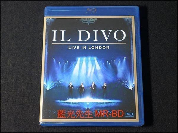 [藍光BD] - 美聲男伶 2011 倫敦大劇院演唱會實況 IL DIVO Live In London