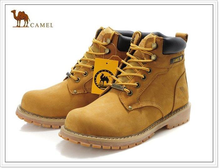 『黑餃ㄇㄇ』【CA030】美國CAMEL正品原廠 2020高筒靴 頂層牛皮 必備潮靴 零碼價限量