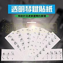 ⚡演奏家 ⚡ 鋼琴琴鍵貼紙兩款  88鍵 61鍵 54鍵 鍵位貼 鋼琴 電鋼琴 鋼琴簡譜貼