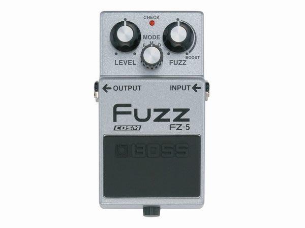 【六絃樂器】全新 Boss FZ-5  FUZZ 模糊破音效果器 / 現貨特價