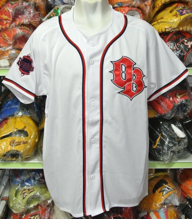 貳拾肆棒球-日本帶回日職棒歐力士會員限定專屬球衣Descente製作.L61*80cm