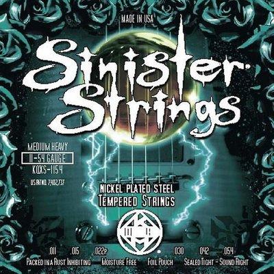 ☆ 唐尼樂器︵☆ Kerly Strings Sinister 系列冰火弦 KQXS-1154 (11-54) 美製電吉他弦