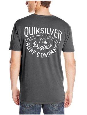 Quiksilver 全新 现货 SURF 轻量柔软 短袖T恤  L 美国购入保证正品