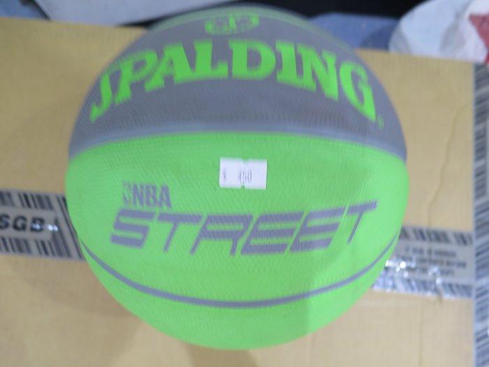 【iSport愛運動】SPALDING STREET SOFT RUBBER 七號籃球 正品 SPA73891