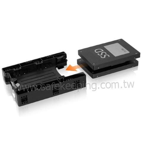 ICY DOCK MB290SP~B 精簡版 SSD HDD 轉接架 2.5吋硬碟轉接架