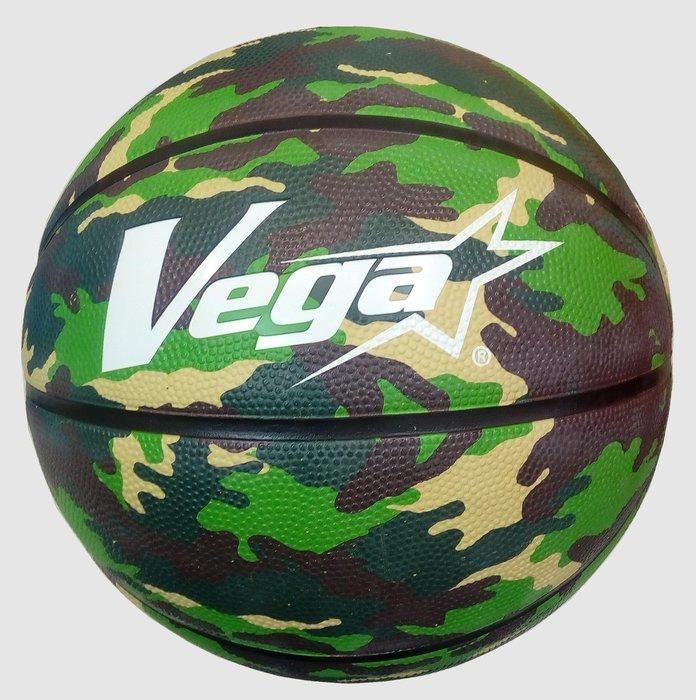 羽球世家【籃球】 VEGA 元吉老品牌 7號街頭籃球 橡膠籃球MBA OBR-702迷彩綠 斯伯丁代工廠