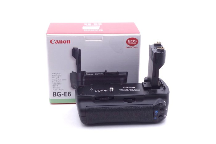 【台中青蘋果】Canon Battery Grip BG-E6 二手 電池手把 #19824
