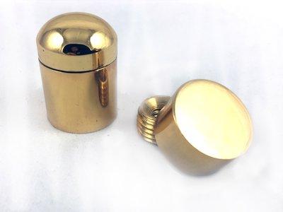 G101(20mm x 28mm) 壓克力海報夾配件/銅鏡珠/化妝螺絲/美化螺絲/廣告螺絲/銅扣