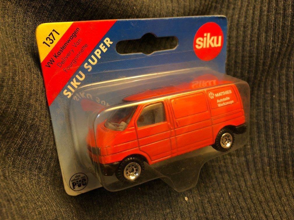 德國 SIKU 火柴盒小汽車, Volkswagen T4全新特別版