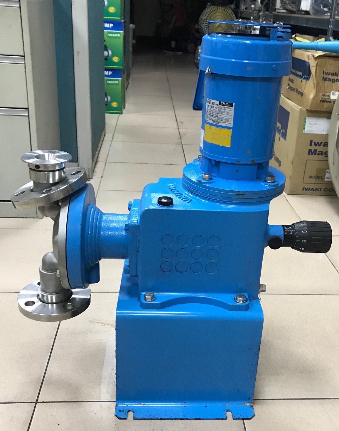 日本TACMINA PUMP ZD1-24L 不鏽鋼定量幫浦/加藥機---最高壓力:3KG/最大流量:21L/min