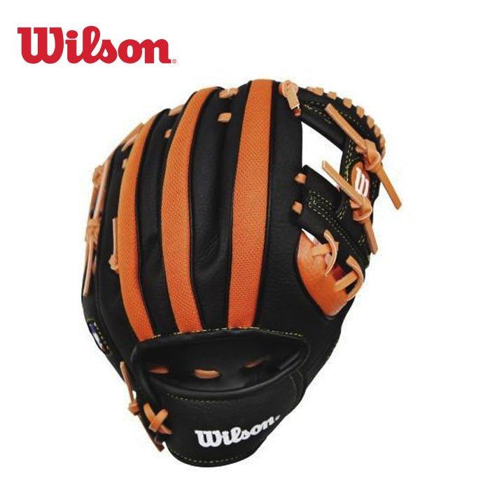 棒球世界Wilson  邁阿密馬林魚款兒童手套 特價