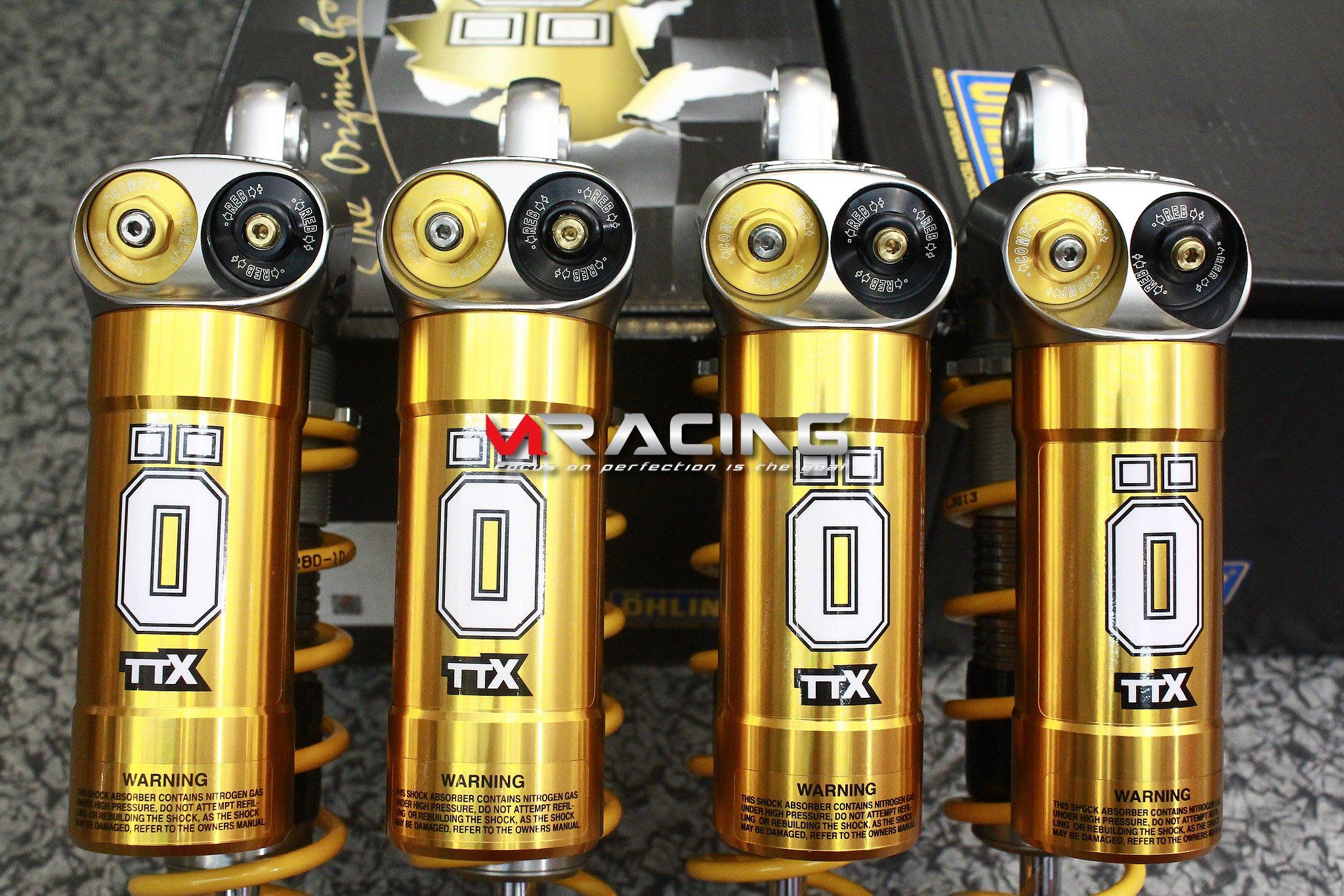 【炫富精品工作室】OHLINS TTX 頂級避震器 速客達專用 適用:四代新勁戰/三代新勁戰/BWSR/BWS/AERO