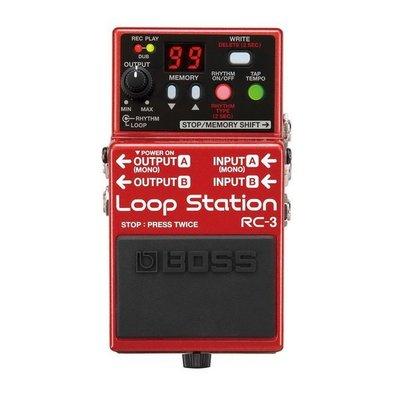 ☆ 唐尼樂器︵☆ BOSS RC-3 Loop Station 樂句循環工作站 效果器 RC-3