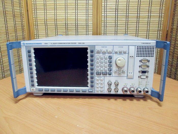 康榮科技二手儀器R&S CMU200 GSM/GPRS/WCDMA/CDMA2000 Universal Radio