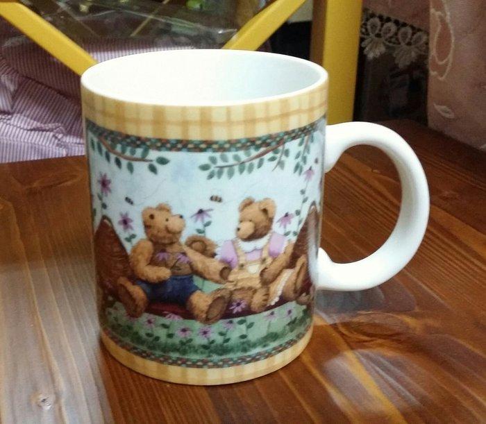 美生活館 -- 全新 鄉村風 新骨瓷 女孩 蜜蜂 熊 高跟鞋 咖啡杯 馬克杯 水杯 果汁杯 飲料 花茶咖啡杯-2