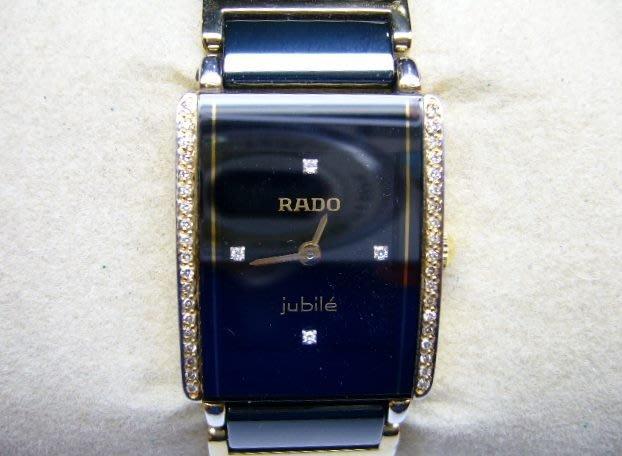[吉宏精品交流中心]RADO 雷達 Integral 精密陶瓷 原鑲真鑽 石英 女錶