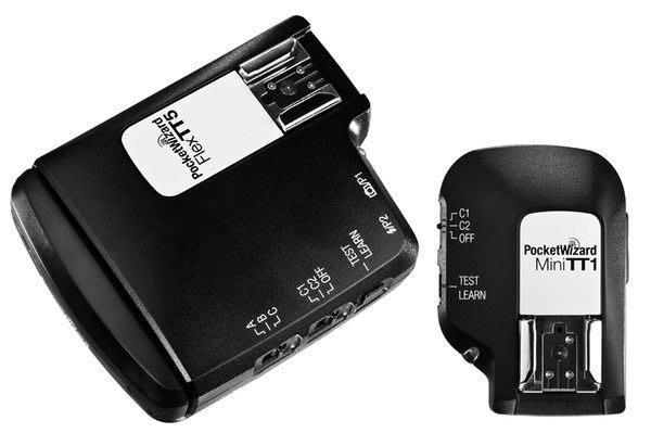 呈現攝影-美國 普威 Pocket Wizard TT1+TT5組 觸發器 引閃器 NIKON專用 SB-910 公司貨1年保固