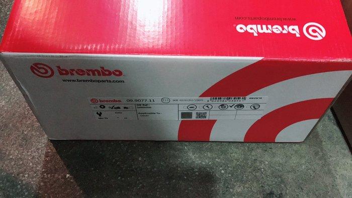 ☆光速改裝精品☆義大利 BREMBO SUBARU 森林人SG GDB GGG GC8 GF8 原廠型碟盤