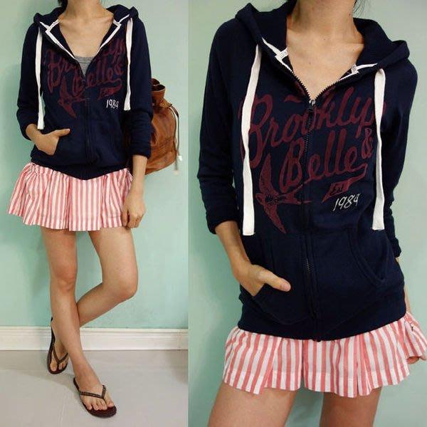 MISHIANA 英國休閒品牌 DUNNES 女生款棉質刷毛連帽外套 ( 新款上市.特價出售 )