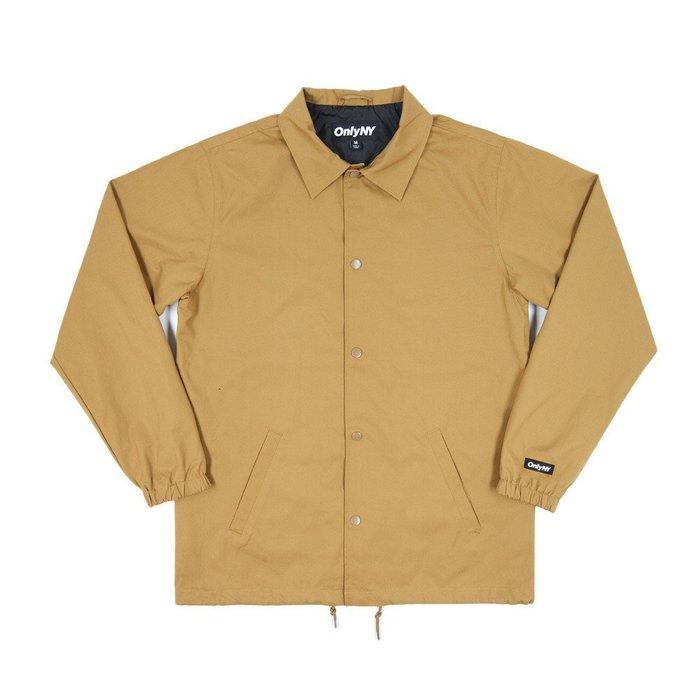 《Nightmare 》ONLY NY Cotton Coach Jacket - Nutmeg