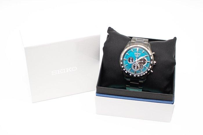 【高雄青蘋果3C】SEIKO SSC475P1 V175-0DK0L 太陽能三眼手錶 中古手錶 #26198