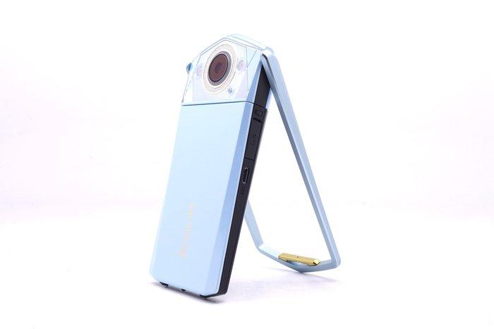 【台中青蘋果】Casio TR80 TR-80 藍 二手 自拍神器 公司貨 #26045