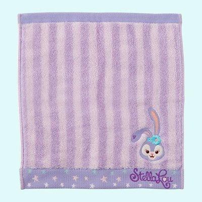 尼德斯Nydus 東京迪士尼海洋限定 達菲熊 Duffy 新朋友 史黛拉兔 Stella Lou 方巾 擦手巾 手帕