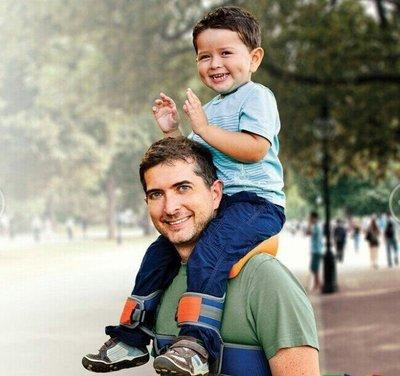 888元 現貨出清不賣了 熱銷 美國 正品 SaddleBaby 戶外嬰兒背架 兒童 肩座 馬鞍肩座 肩背帶 背帶 背袋