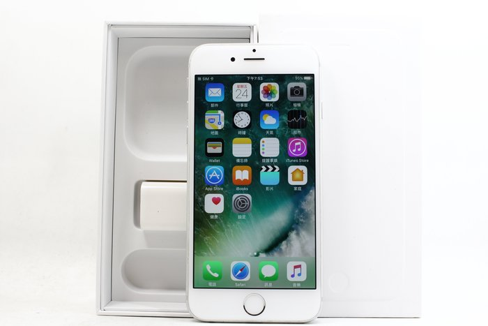 【台南橙市3C】Apple iPhone 6  128G 128GB 銀 4.7吋 二手 蘋果手機 #19210