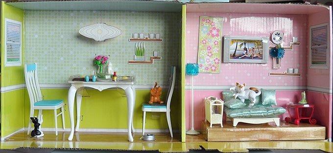 ♥可兒派對♥ 可兒娃娃 芭比娃娃 莉卡娃娃 廚房餐桌傢俱家具