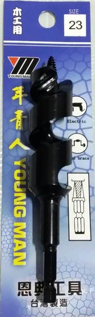 ~王董a五金行~年青人 木工鑽頭 23mm