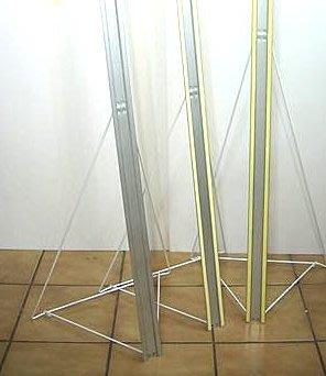 拍賣二手 九成新150CM人行立版腳架 展示架 適合店面用 增加商品的曝光度 吸引客人秘密武器 最便宜  要買要快