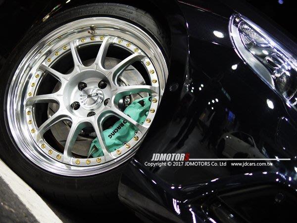 JD-MOTORS 日本原裝進口  SSR Professor SP5 三片式輪圈 18/19/20吋羽量賽事重量設計